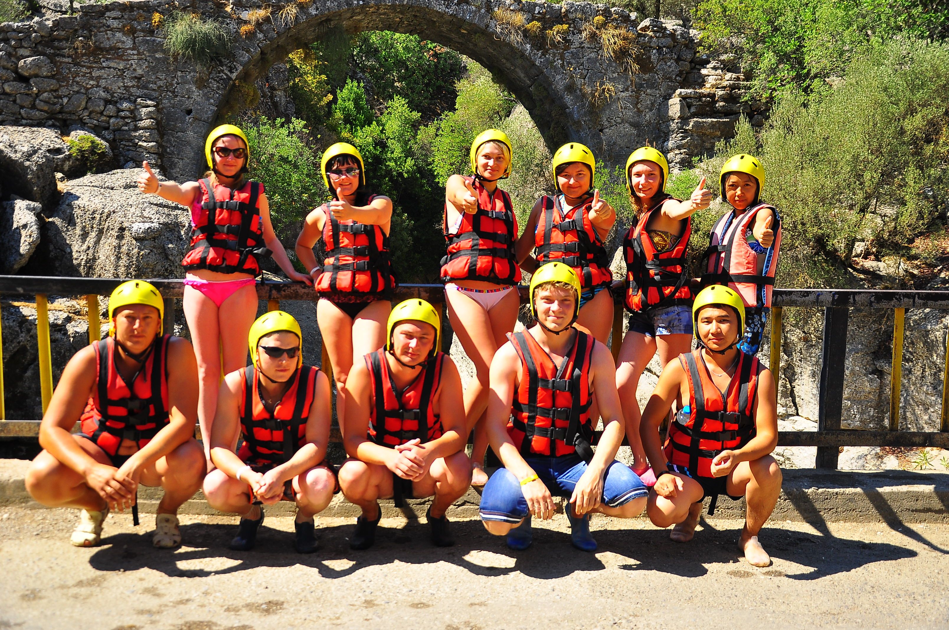 Antalya rafting koprulu canyon