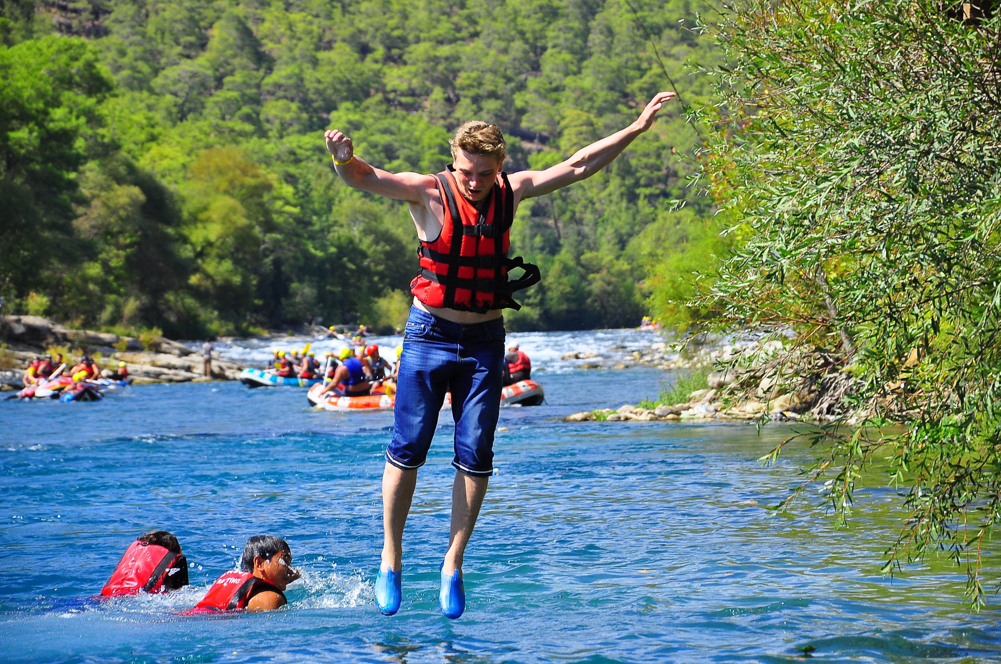 Antalya koprulu canyon rafting tour