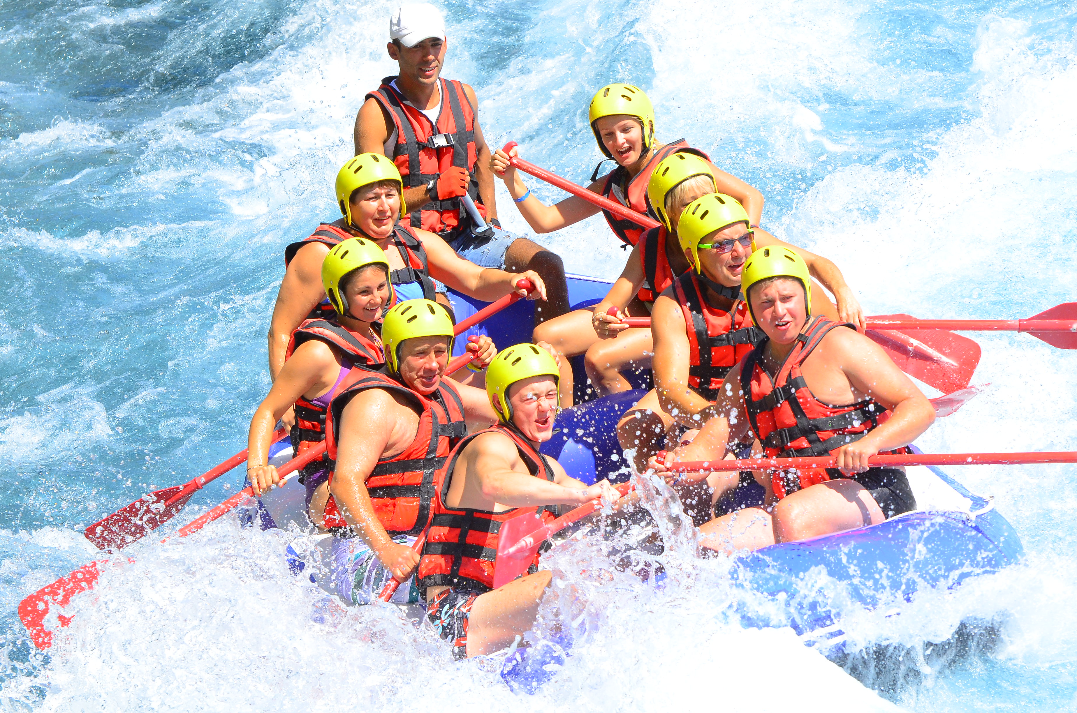 Koprulu canyon rafting Antalya